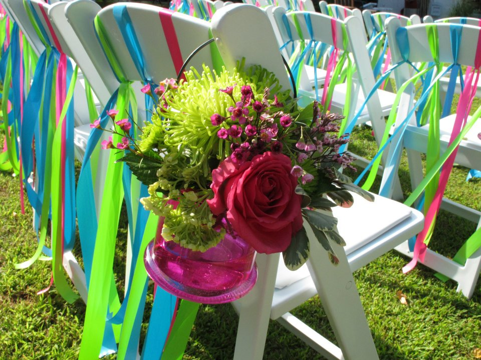 Multicolored Chair Display