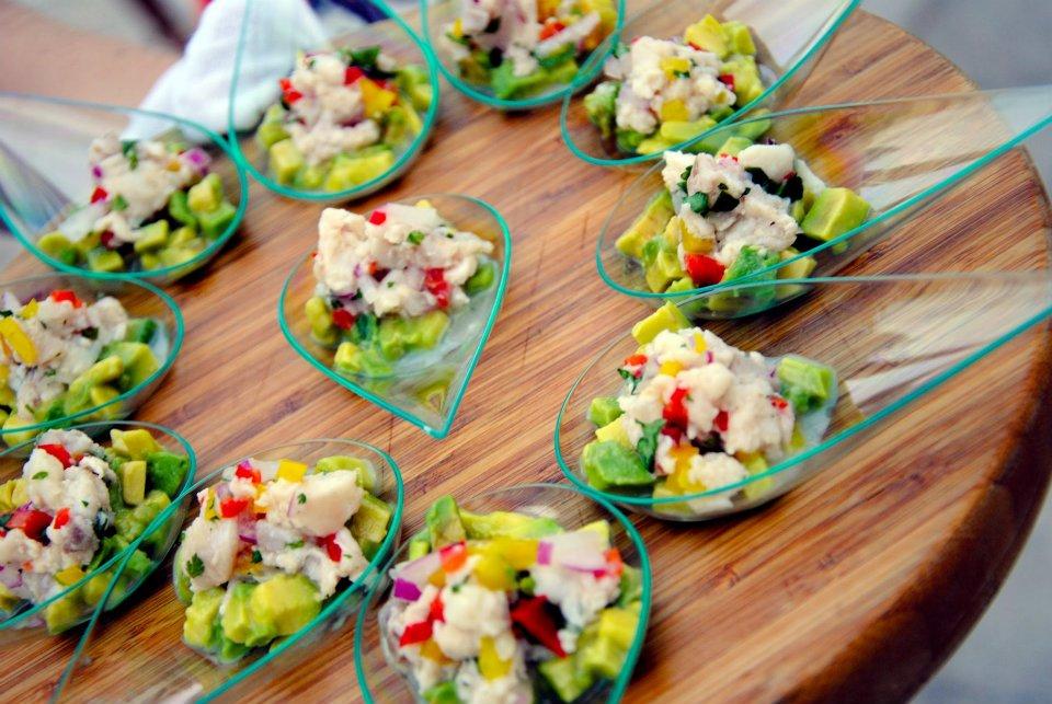 Food Display Salad Dishes