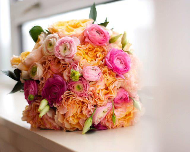 Pinks and Oranges Bouquet