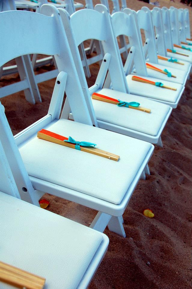 Tropical on the Beach Chair Display