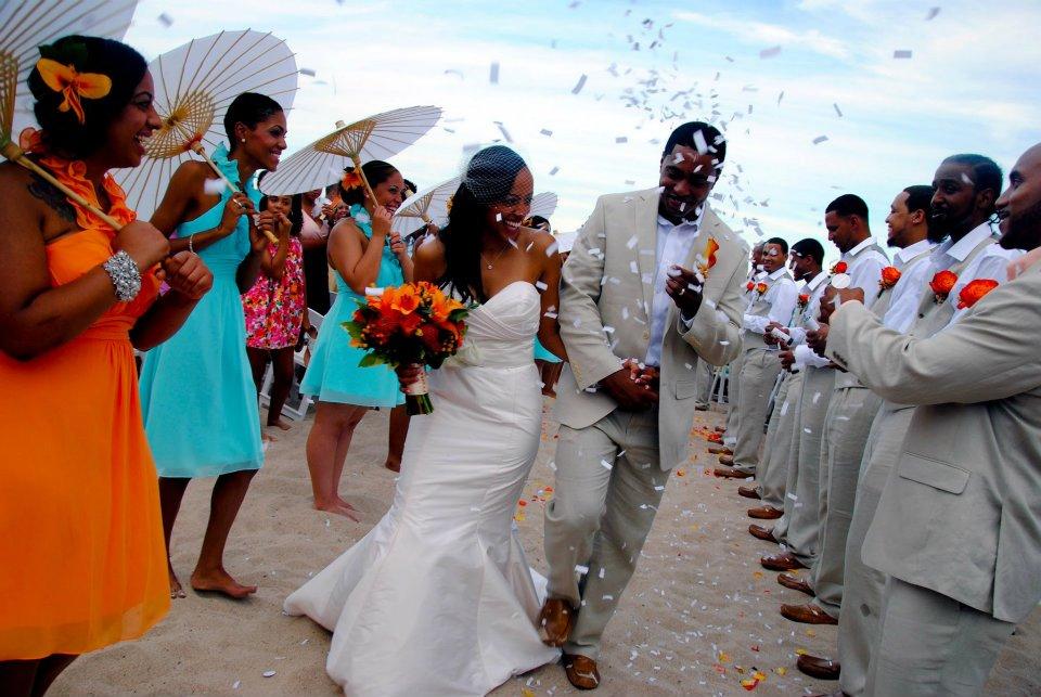 Walking Down The Isle Beach Wedding