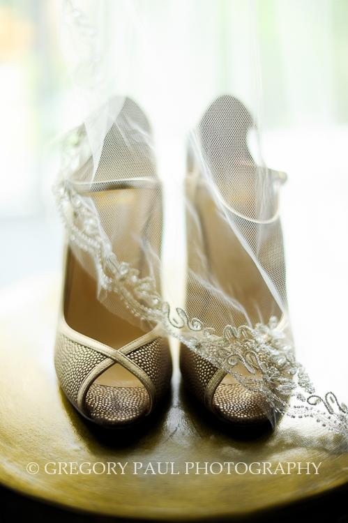 Bridal Shoes | Miami Tower Wedding
