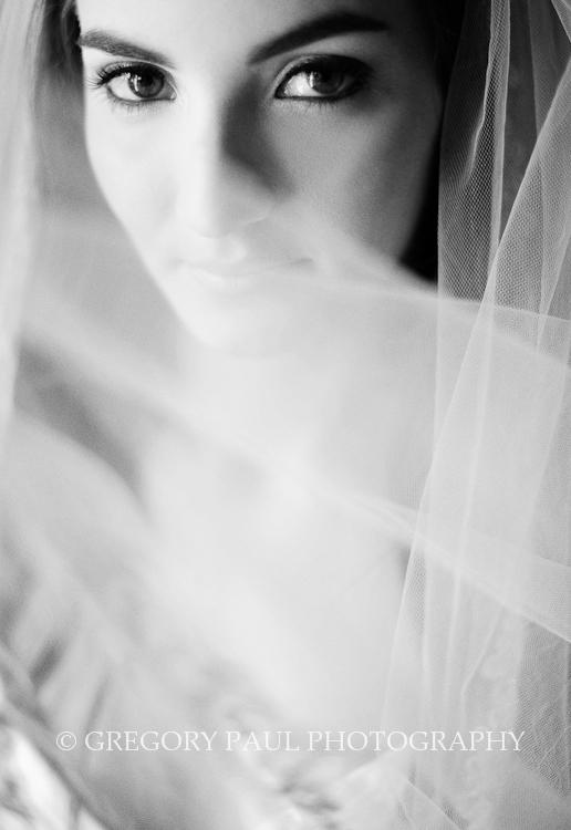 Black & White Bride Pic | Miami Tower Wedding