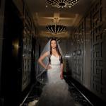 Bride Solo Pic | Miami Tower Wedding